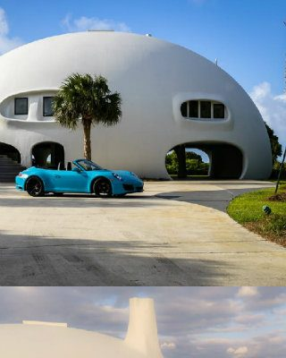 Eye Of The Storm: See The Futuristic Design Of The $5M Dome Home