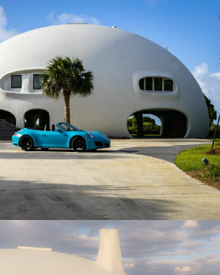 Eye Of The Storm: See The Futuristic Design Of The $5M Dome Home - Covet Edition