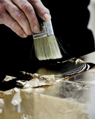 Leaf Gilding Is One of the World's Most Stunning Decorative Techniques