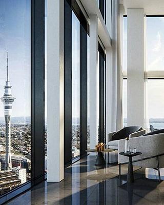 "Best Design Projects: The Pacifica ""Super Penthouse"" in New Zealand ➤ #covetedmagazine #bestdesignprojects #superpenthouse #interiordesignprojects #inspirations ➤ www.covetedition.com ➤ @covetedmagazine @bocadolobo @delightfulll @brabbu @essentialhomeeu @circudesign @mvalentinabath @luxxu @covethouse_ @rug_society @pullcast_jewelryhardware @bybrabbucontract"