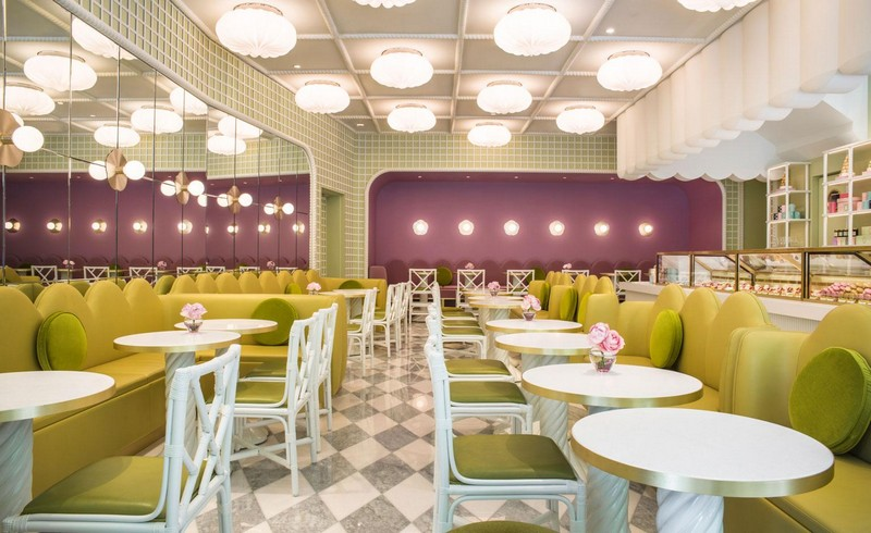 India Mahdavi Gives Whimsical Parisian Twist to Ladurée's Tokyo Salon 1