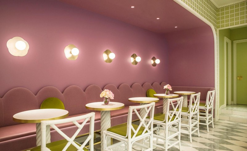 India Mahdavi Gives Whimsical Parisian Twist to Ladurée's Tokyo Salon 2