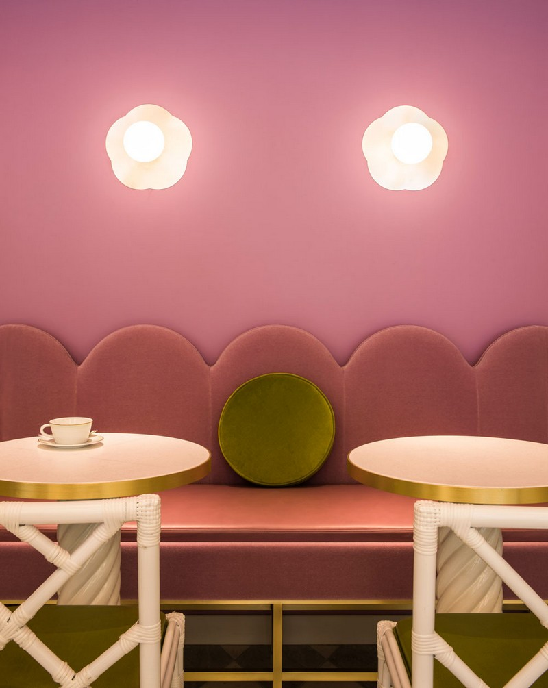 India Mahdavi Gives Whimsical Parisian Twist to Ladurée's Tokyo Salon 4