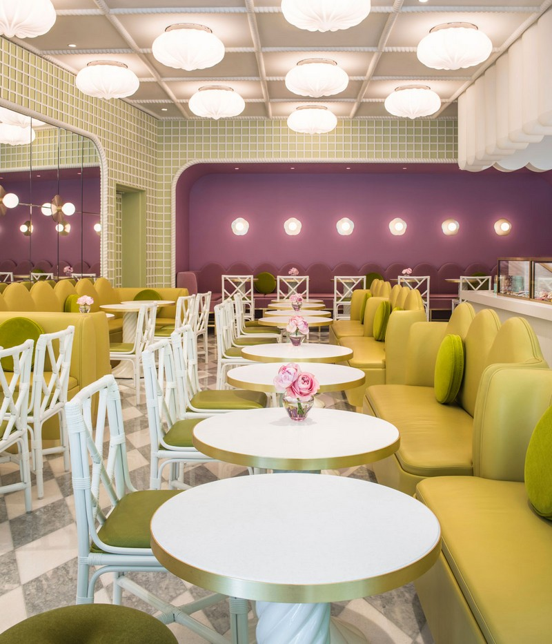 India Mahdavi Gives Whimsical Parisian Twist to Ladurée's Tokyo Salon 5 india mahdavi India Mahdavi Gives Whimsical Parisian Twist to Ladurée's Tokyo Salon India Mahdavi Gives Whimsical Parisian Twist to Ladur e s Tokyo Salon 5