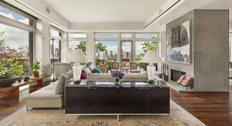 Meryl Streep's Listed Her Stunning Tribeca Penthouse for $25 Million 1