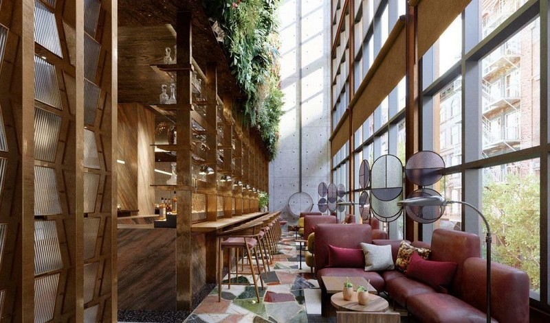 moxy chelsea Moxy Chelsea Features Interiors by Rockwell Group and Yabu Pushelberg Moxy Chelsea Features Interiors by Rockwell Group and Yabu Pushelberg 8