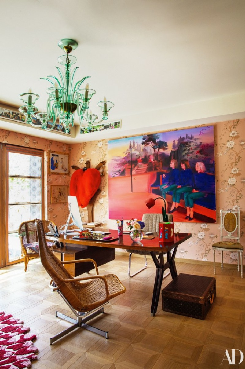 Be Inspired By Margherita Missoni's Colourful Home Margherita Missoni Be Inspired By Margherita Missoni's Colourful Home Take A Look At Margherita Missonis Italian Home 9