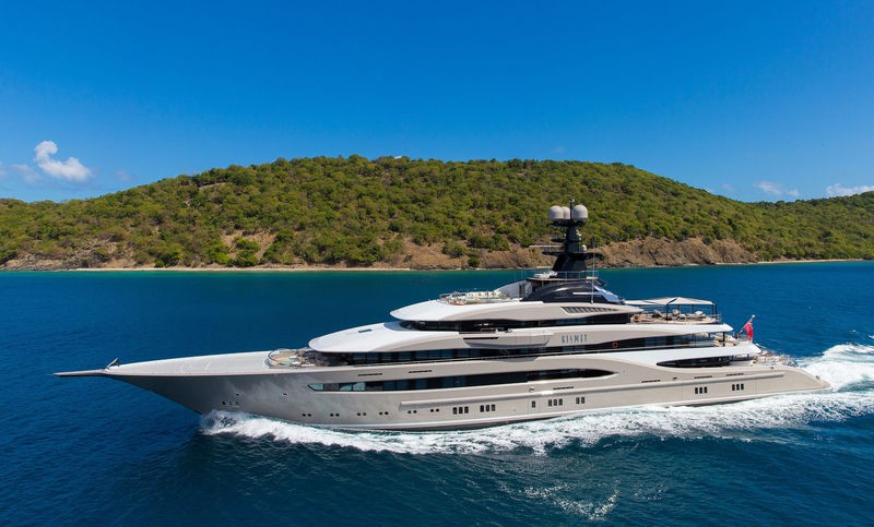 These are the Largest Superyachts to See at the Monaco Yacht Show 2018 1 Monaco Yacht Show 2018 These are the Largest Superyachts to See at the Monaco Yacht Show 2018 These are the Largest Superyachts to See at the Monaco Yacht Show 2018 1
