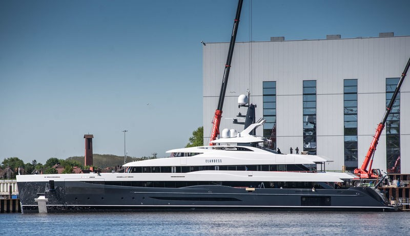 These are the Largest Superyachts to See at the Monaco Yacht Show 2018 5 Monaco Yacht Show 2018 These are the Largest Superyachts to See at the Monaco Yacht Show 2018 These are the Largest Superyachts to See at the Monaco Yacht Show 2018 5