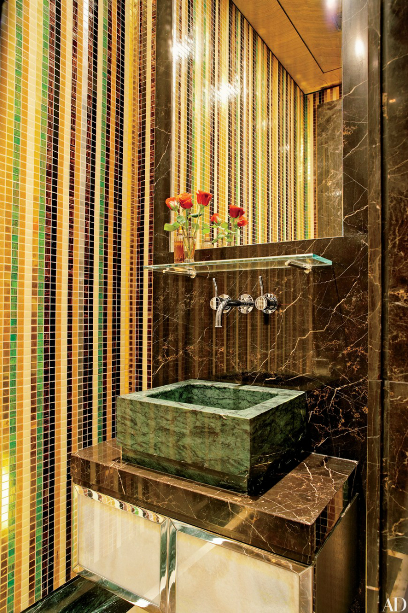 16 Colourful Bathroom Ideas to Create the Most Soothing Environment (1)