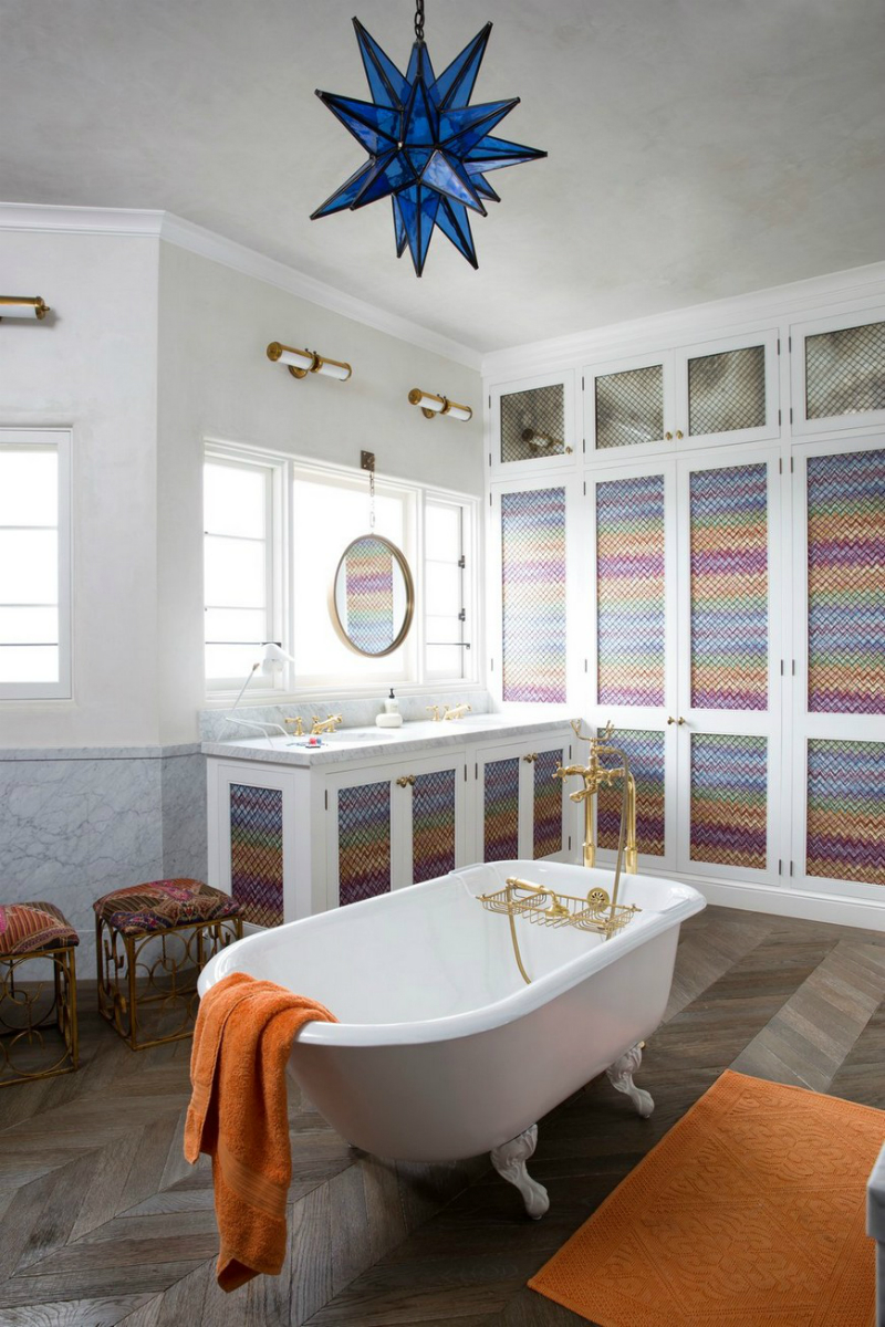 16 Colourful Bathroom Ideas to Create the Most Soothing Environment (8)