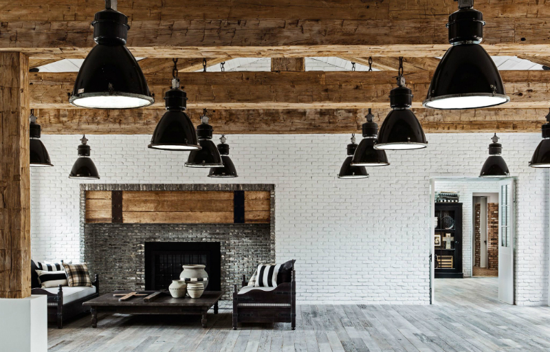 Celebrity Lifestyle Diane Keaton Designed Her Own Modern Rustic Home (6)