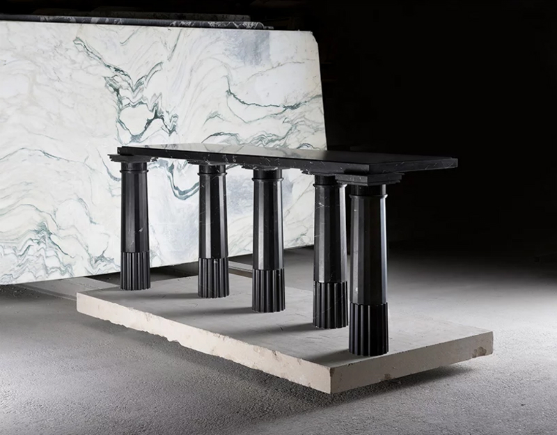Karl Lagerfeld Unveils Marble Pieces For Carpenters Workshop Gallery