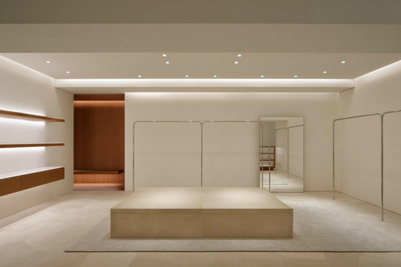 Minimalism Is Taken To A New Level At Jill Sander's New Tokyo Store