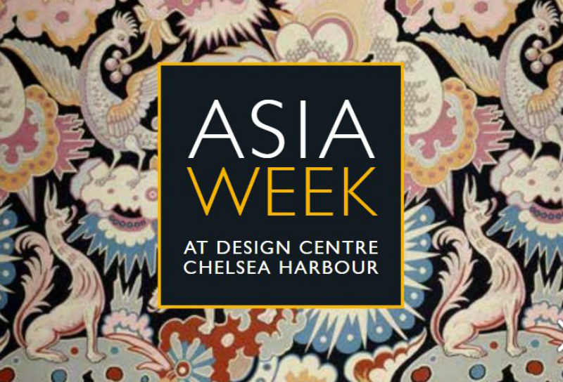 Don't Miss Asia Week At Chelsea Harbour's Design Centre