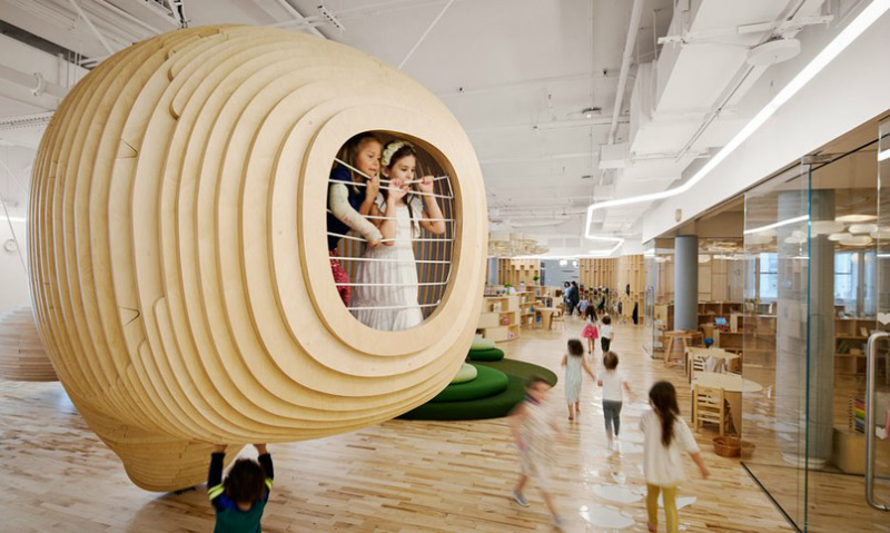 Regard WeGrow School's Indoor Natural Ecosystem by Bjarke Ingels Group (1) Bjarke Ingels Group Regard WeGrow School's Indoor Natural Ecosystem by Bjarke Ingels Group Regard WeGrow Schools Indoor Natural Ecosystem by Bjarke Ingels Group 1