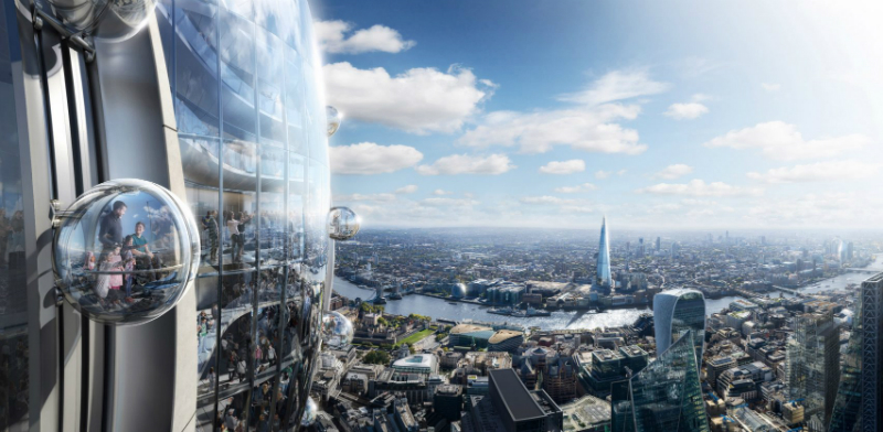 The Tulip Designed By Foster + Partners Will Be London's Tallest Building