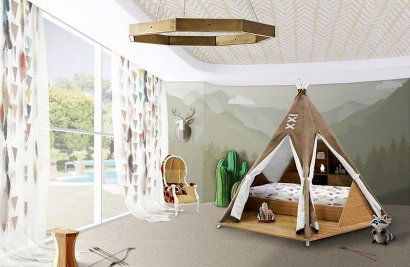 Upgrade Your Kids Bedroom Decor With the Teepee Family