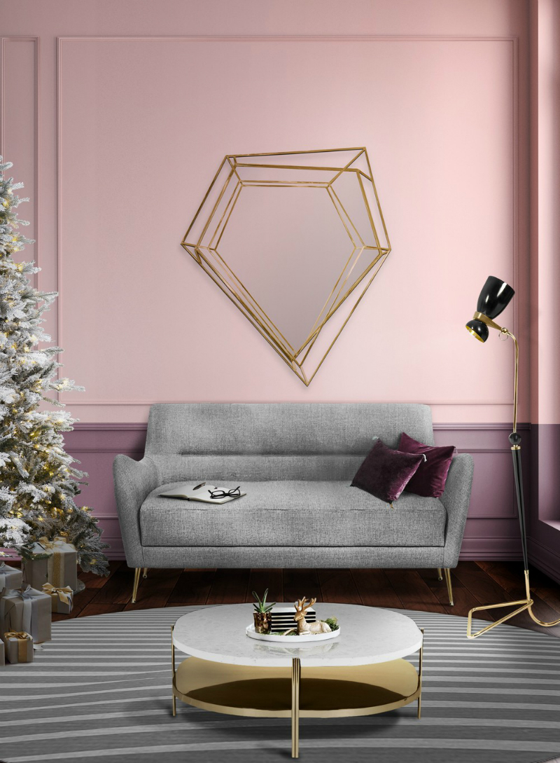 Be Inspired By Christmas Decor Ideas Featuring Wall Mirror Designs Covet Edition