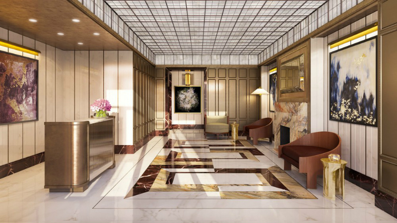 David Collins Studio Designs Interiors of 1010 Park Avenue Residences (6)