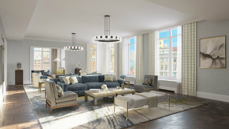 David Collins Studio Designs Interiors of 1010 Park Avenue Residences (7)