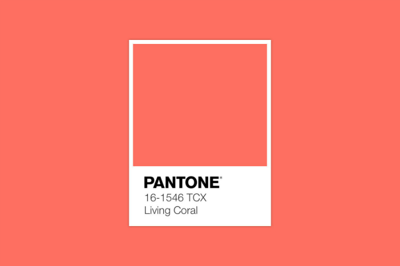 Pantone Announces Living Coral As The Colour of The Year 2019
