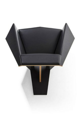 Frank Lloyd Wright Italian Brand Cassina Relaunches Frank Lloyd Wright's Iconic Chair feat 2 320x450