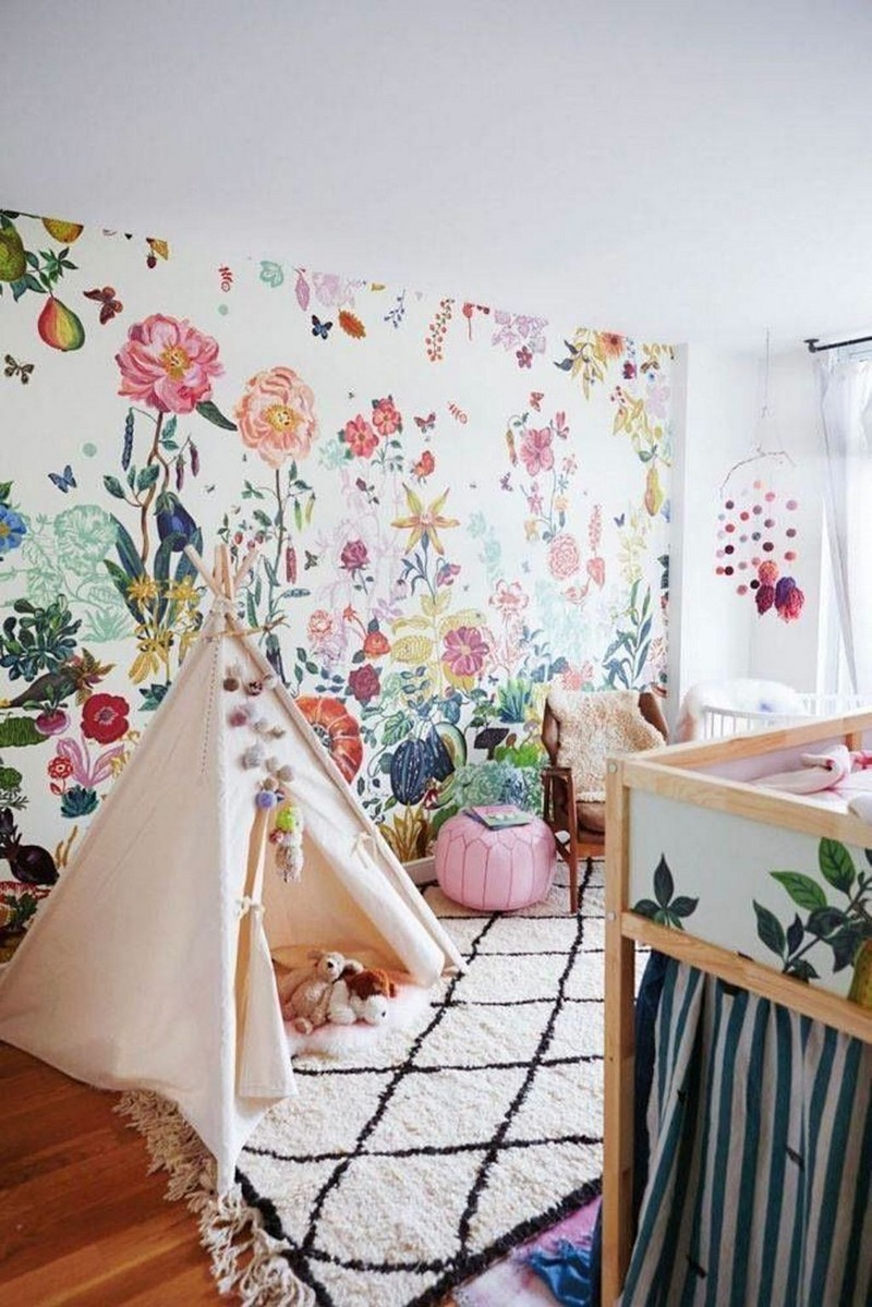 Spring Trends 2019 - Floral Bedroom Decors Your Kids Will Love