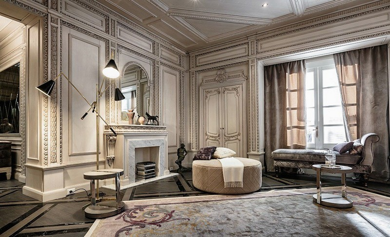 Interior Design Tips Moodboard Based on the Neoclassic Concept 2