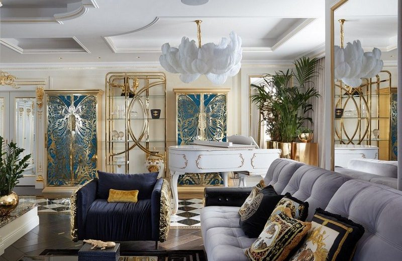 Interior Design Tips Moodboard Based on the Neoclassic Concept 5