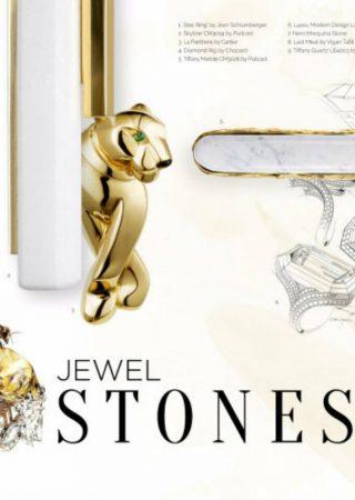 Interior Design Tips: Hardware Jewel Stones Moodboard
