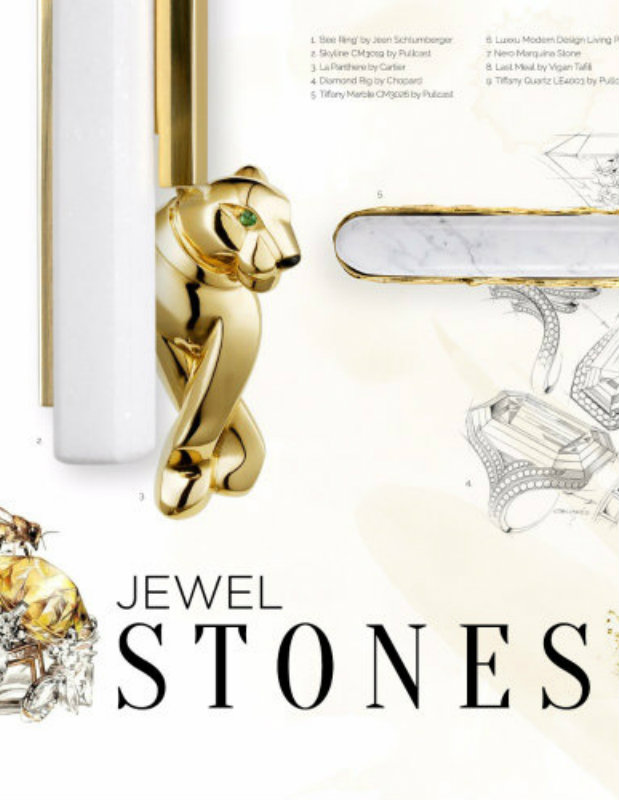 Jewel Stones A Trend for Hardware Products