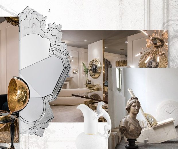 Interior Design Tips Moodboard Based On The Neoclassic Concept Covet Edition