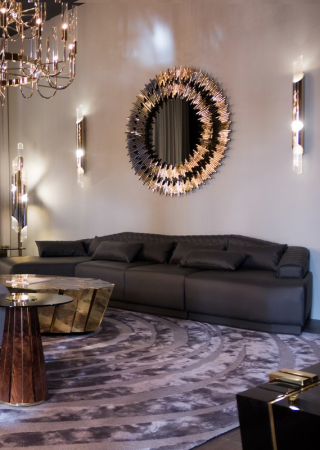 Delve Into a Crafty Revival of the Wall Mirror Luxury Design Sector