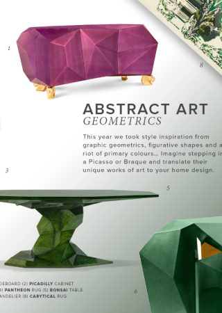 Interior Design Tips: Bring Abstract Art Geometrics to Your Home Decor