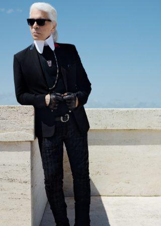 The Iconic Fashion Designer, Karl Lagerfeld, Dies, Age 85