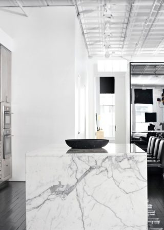 Ryan Korban- The King of Marble Infused Kitchen Designs