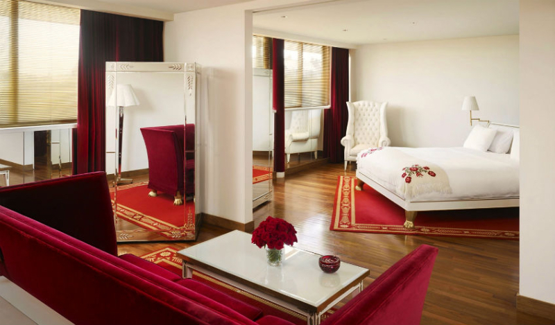 Bedroom Design at the Hotel Faena in Buenos Aires by Philippe Starck