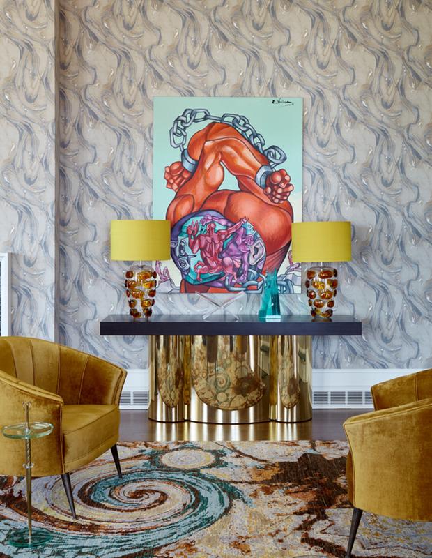 Ananiev Interiors' New Design Project Featuring Brabbu