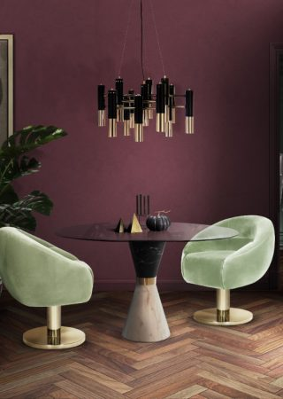 Simple Ways to Create A Glamorous Dining Room