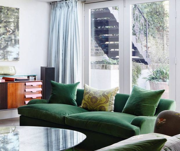 Sofa Trends Green Luxury Is Here