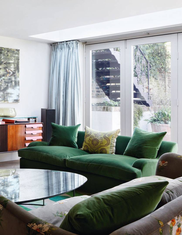Sofa Trends: Green Luxury is here!