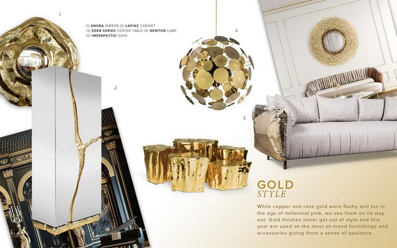 Interior Design Tips: Have A Luxury Home Decor With The Gold Moodboard