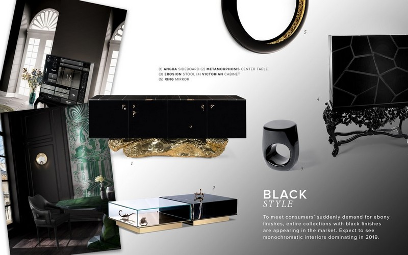 Interior Design Tips How To Be Edgy With The Black Style Moodboard