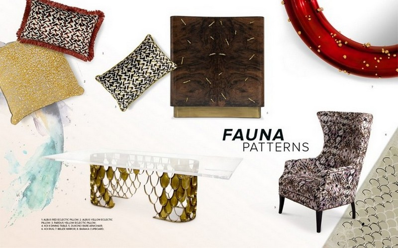 Interior Design Tips: Welcome Nature With Fauna and Flora Moodboards