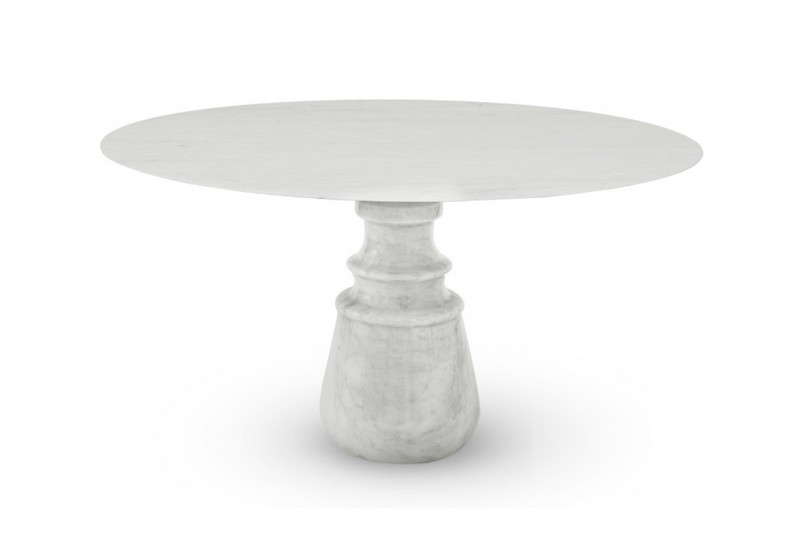 Pietra Table A Luxury Design Piece In Exquisite White Marble