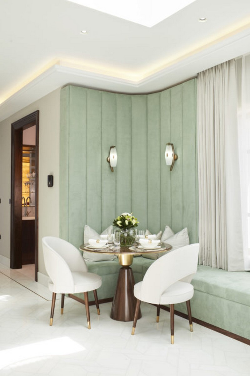 A London Apartment Gets An Art Deco Makeover In Pastel Colours