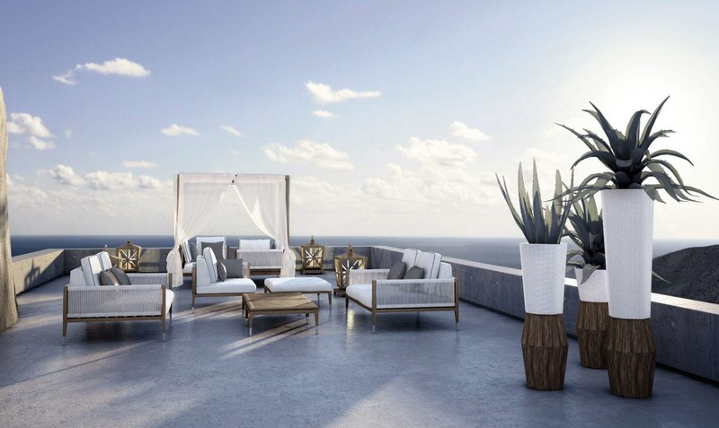Best Outdoor Brands To Enjoy The Outdoor Living: Amalfi collection by Smania