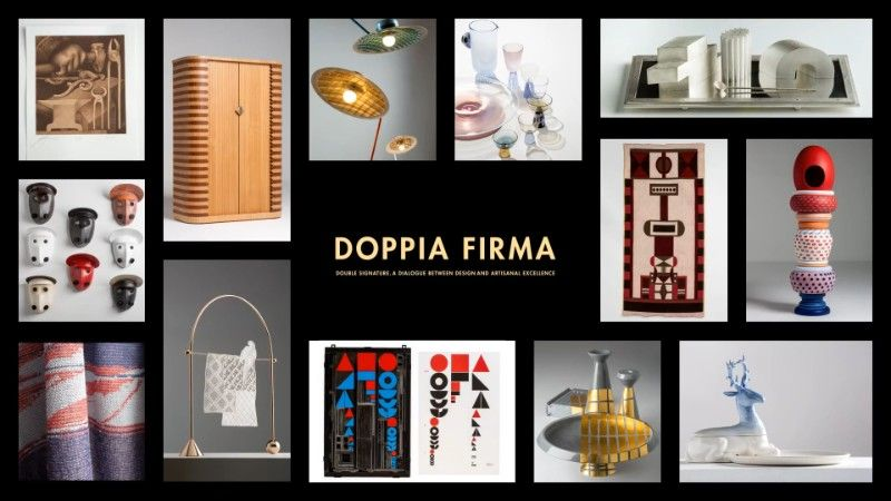 Milan Design Week 2019 - Masterpieces Of Craftsmanship In Doppia Firma milan design week Milan Design Week 2019 – Masterpieces Of Craftsmanship In Doppia Firma Join Doppia Firma 2019 at Salone del Mobile 2019 1