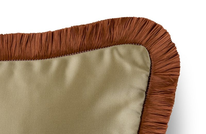Tawny Brown Is The Colour Trend For 2020: Nº4 II Cushion by Home's Society